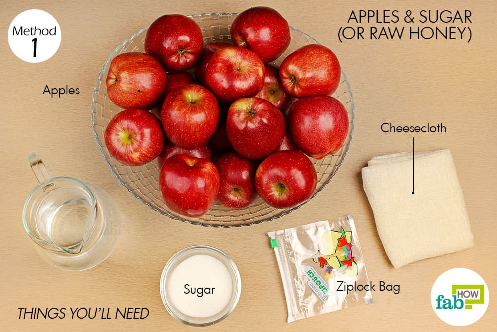 Fab how- how to prepare apple cider vinegar at home